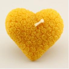 Candela cuore roselline