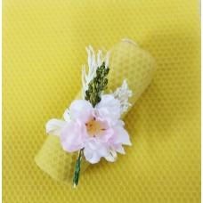 Candela cero decoro fiore