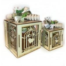 """Bomboniera """"Miele in box legno"""""""