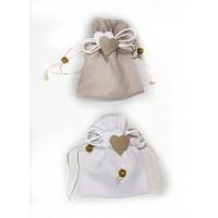 Confetti in sacchetto cuore