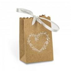 Bustina cartone con confetti